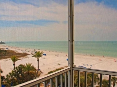 Gulf View from Every Room, Beach & Pool Open! Wifi, Steps from Beach, 6th Floor