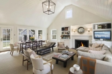 Walk to East Hampton Village from the sumptuously landscaped home!!