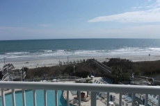 Upgraded Oceanfront 1 BR w/ Full Kitchen-Perfect for couple -Max 4 people- Sea Watch Resort ~ POOLS -Hot Tubs~ BEACH! Overlooking Pools and Ocean