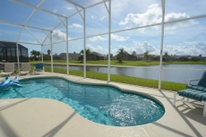 Ref 42. 3 Bed Pool Home with stunning Lake View. Near Disney