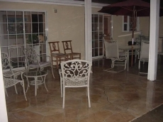 Large Patio - You can eat outside most of the year!